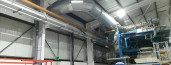 Installation of new ducting