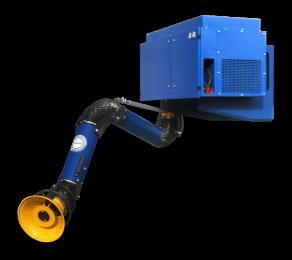Crawlair Overhead Cartridge Filter