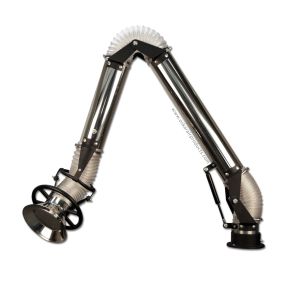 Stainless Steel Fume Extraction Arm